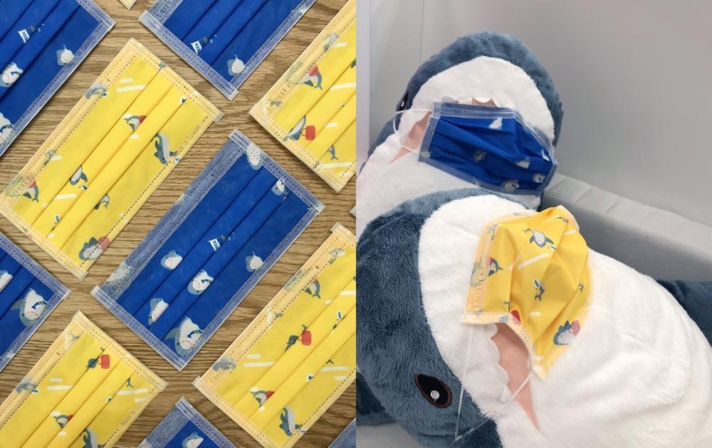 IKEA經典藍黃配色「鯊魚口罩」限量只送不賣!跟鯊鯊戴同款只要這樣做