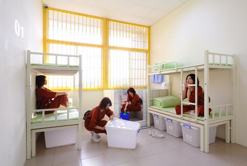 台中監獄很另類!體驗「坐監」還有3D彩繪拍照打卡