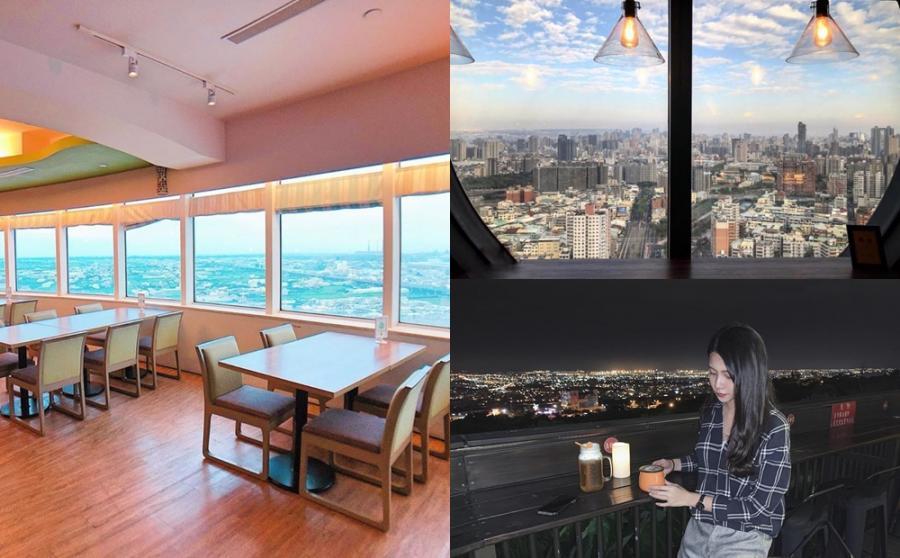 百元賞景喝咖啡!台中4間「高空&露天景觀餐廳」俯瞰璀燦夜色