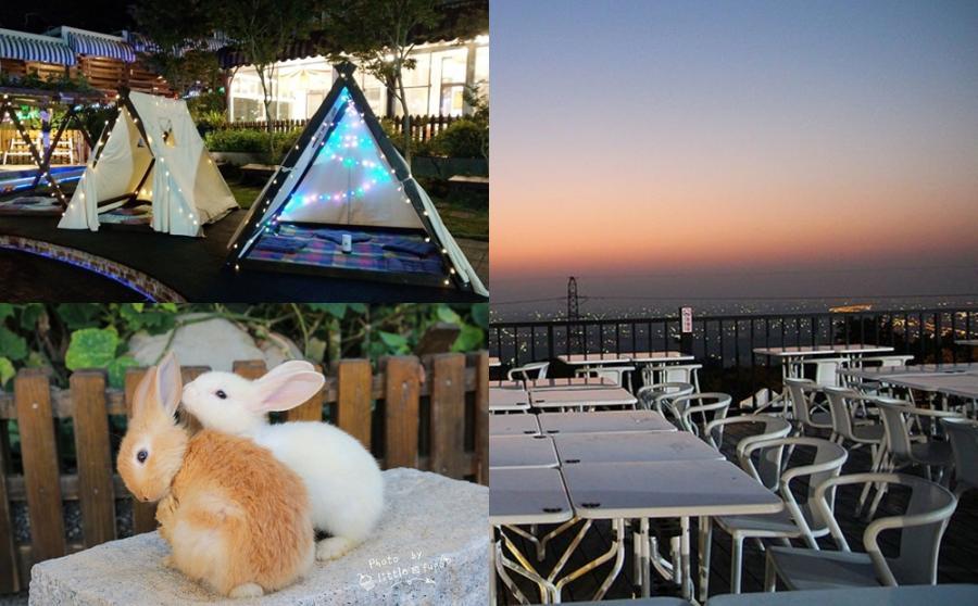 星光帳篷美出新高度!彰化「親子景觀餐廳」還能泡腳玩沙看兔子