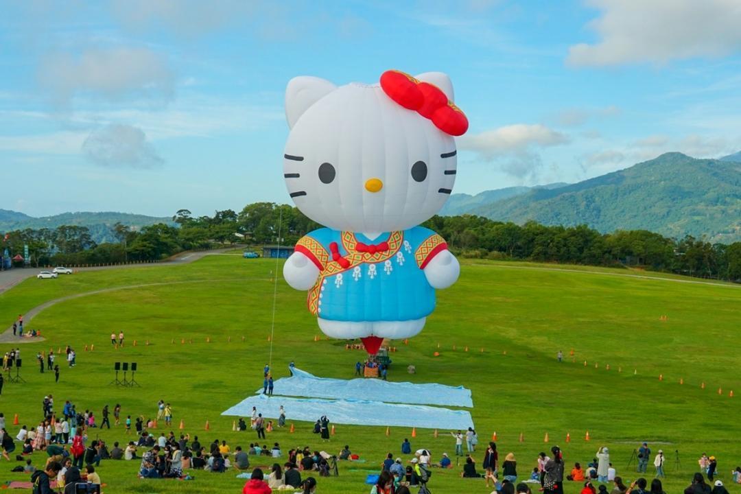 「HELLO KITTY熱氣球」無緣見!台東熱氣球嘉年華宣布延期、退票辦法這裡看