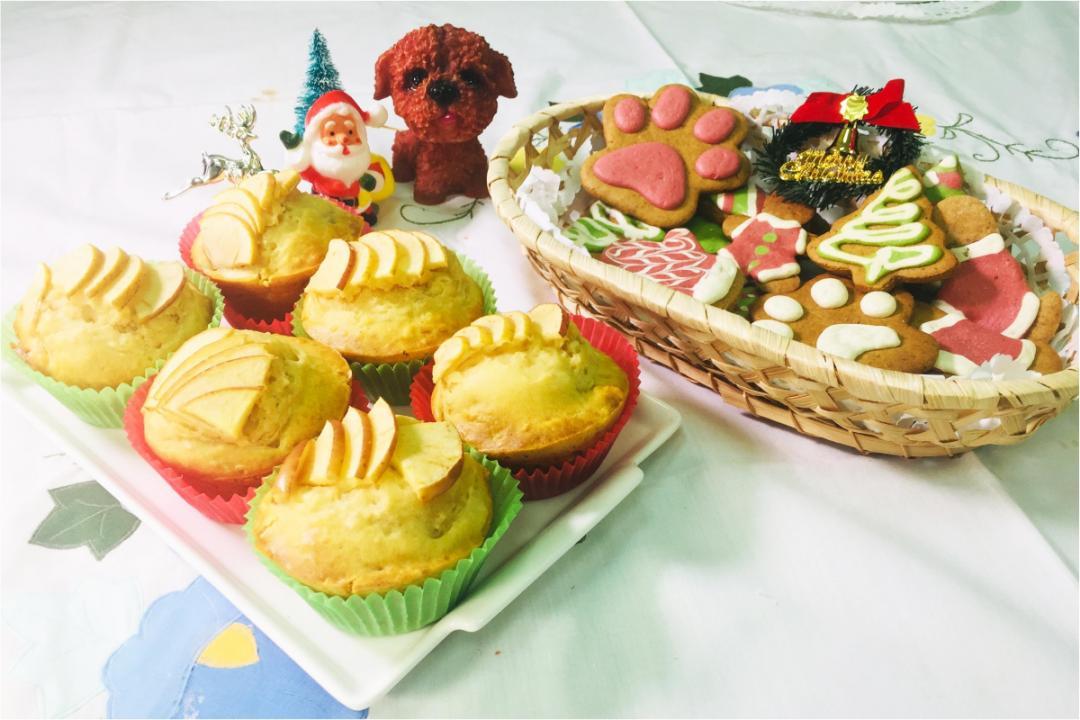 毛孩耶誕食譜「造型地瓜餅、馬芬蛋糕」做法超簡單!飼主淚:不是給我吃的