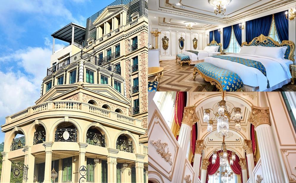 住進日月潭超華麗「古堡飯店」當皇宮貴族!新開幕免費送船票遊湖