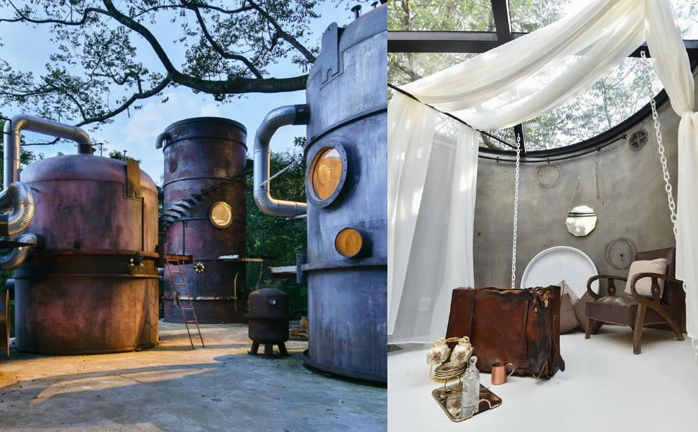 宮崎駿場景睡一晚!南投「霍爾高塔房、森林玻璃屋」還有獨特水管床必體驗