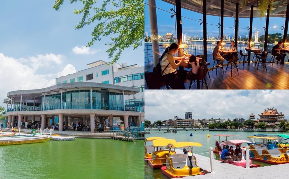 河景第一排吃美食、划SUP!桃園「龍潭大池」2層樓河畔建築全新開放
