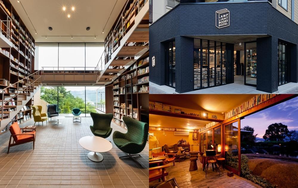 到圖書館睡一晚!日本興起「書店×飯店」複合新旅宿,萬本夢幻藏書看到飽