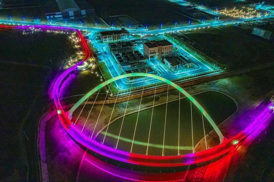 全台最美「彩虹自行車道」將開放夜騎!環狀高空設計搭配絕美拱橋超搶眼