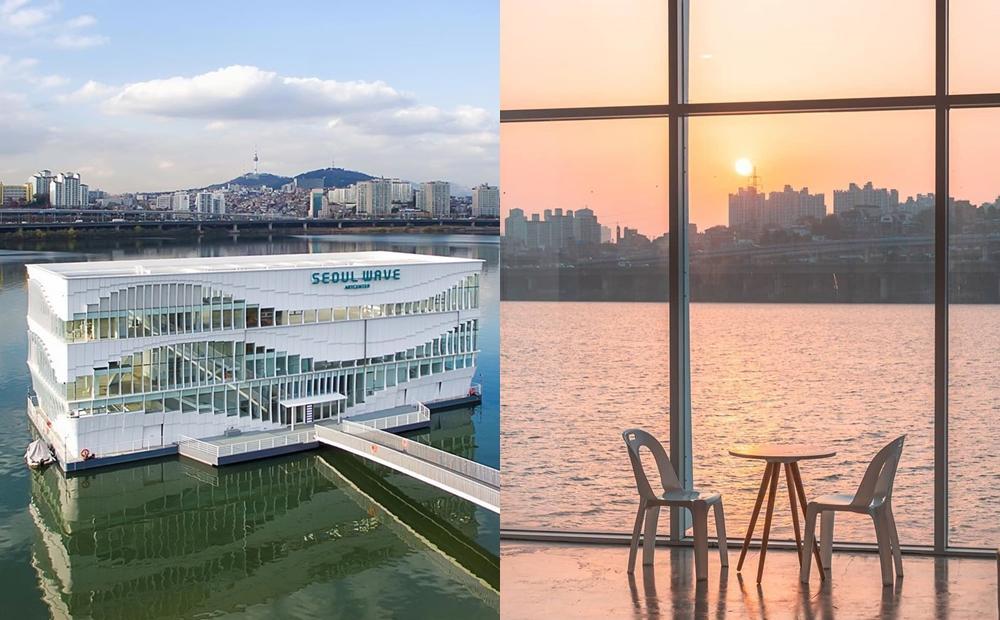 全球首間「水上星巴克」360度賞景無死角!喝咖啡看漢江夕陽太享受