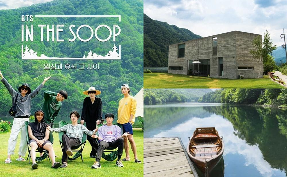 BTS團綜拍攝地「湖畔別墅」播出前曝光!絕美森林秘境成旅遊新話題