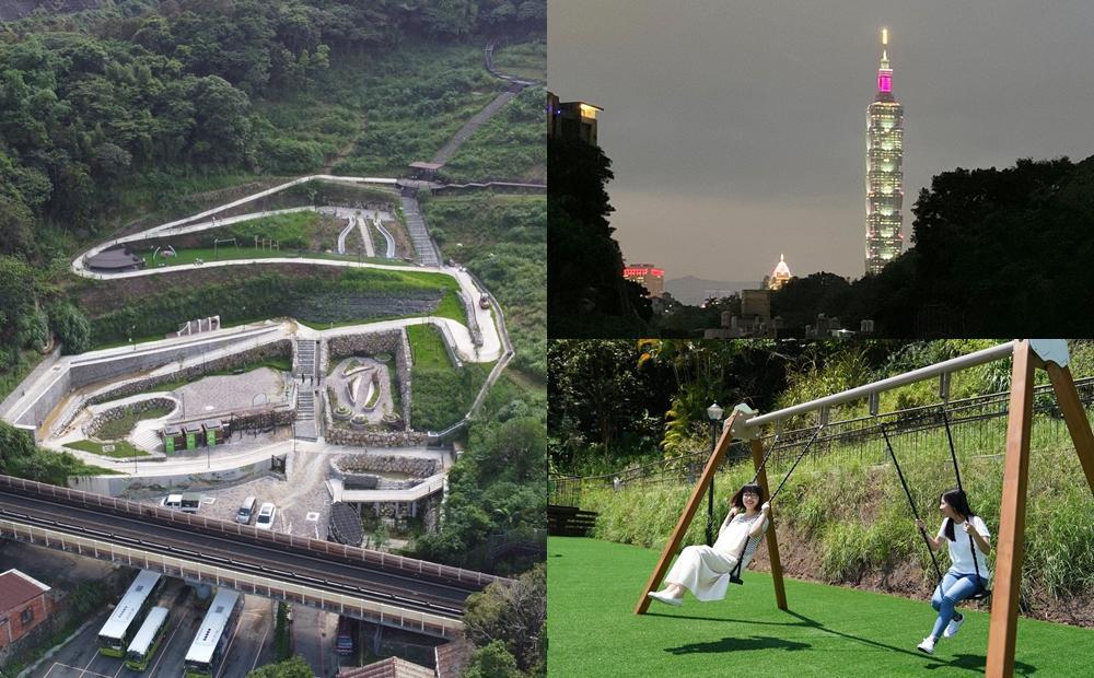 森林步道眺望台北101!踏青新秘境「黎和生態公園」坐捷運就能到