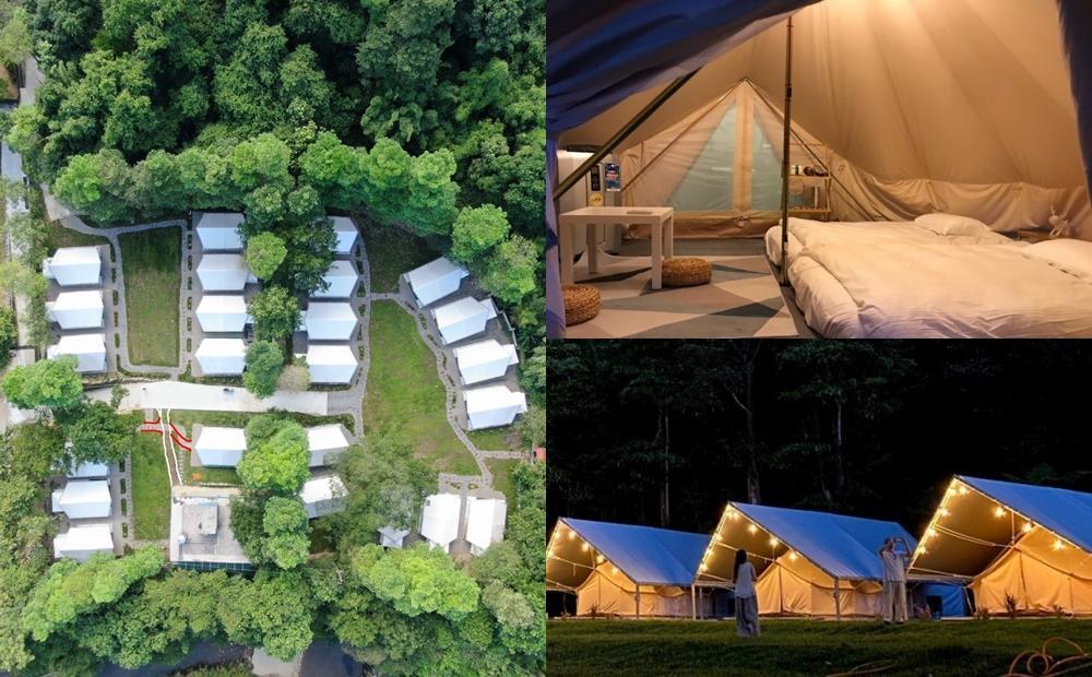 「台版合掌村」豪華露營地在基隆!9月入住送消夜、親子水樂園免費玩