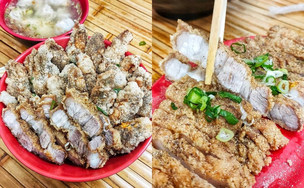 熟客才懂吃的銷魂海陸蓋飯!桃園青埔「爆量蚵仔酥+燒肉」一天只賣3小時