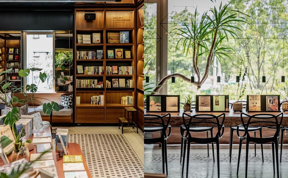 台北市區唯一的森林書店開幕!「森大青鳥」面對大安森林公園喝咖啡賞綠意