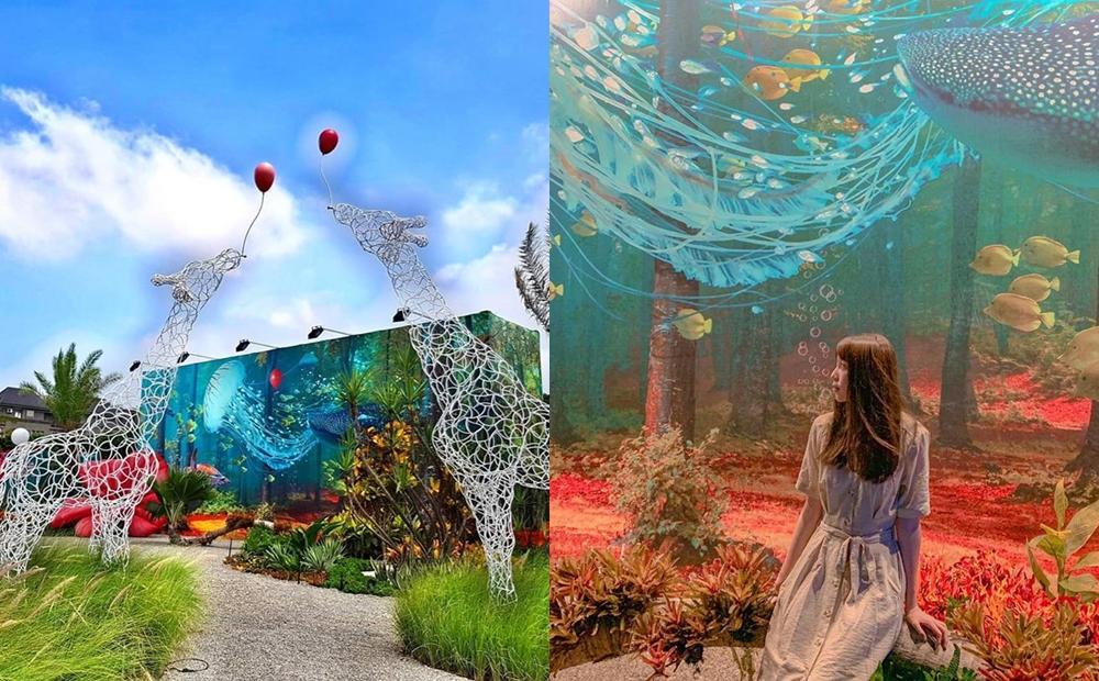 「海底世界、雪白竹籤海」免費拍過癮!台中200坪藝術地景期間限定