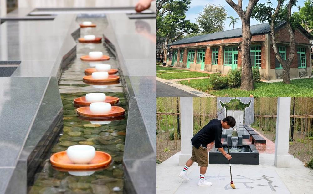 台劇場景體驗「茶水漂漂河」愜意賞月!台南百年老糖廠親子一日遊新玩法