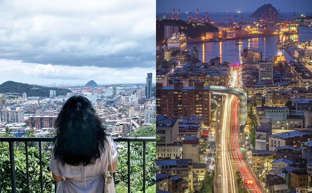 基隆「最美觀景台」5分鐘攻頂!上帝視角俯瞰大船入港、璀璨百萬夜景