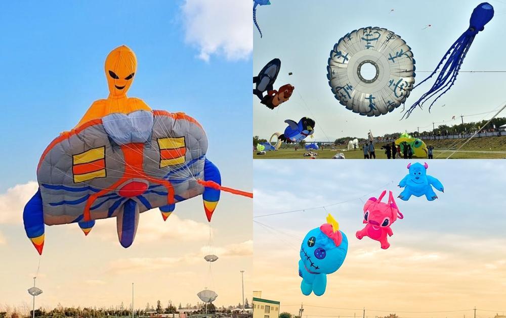 全台 3 大風箏節10月週末輪番登場!巨型飛碟現身桃園、苗栗美食市集放飛趣