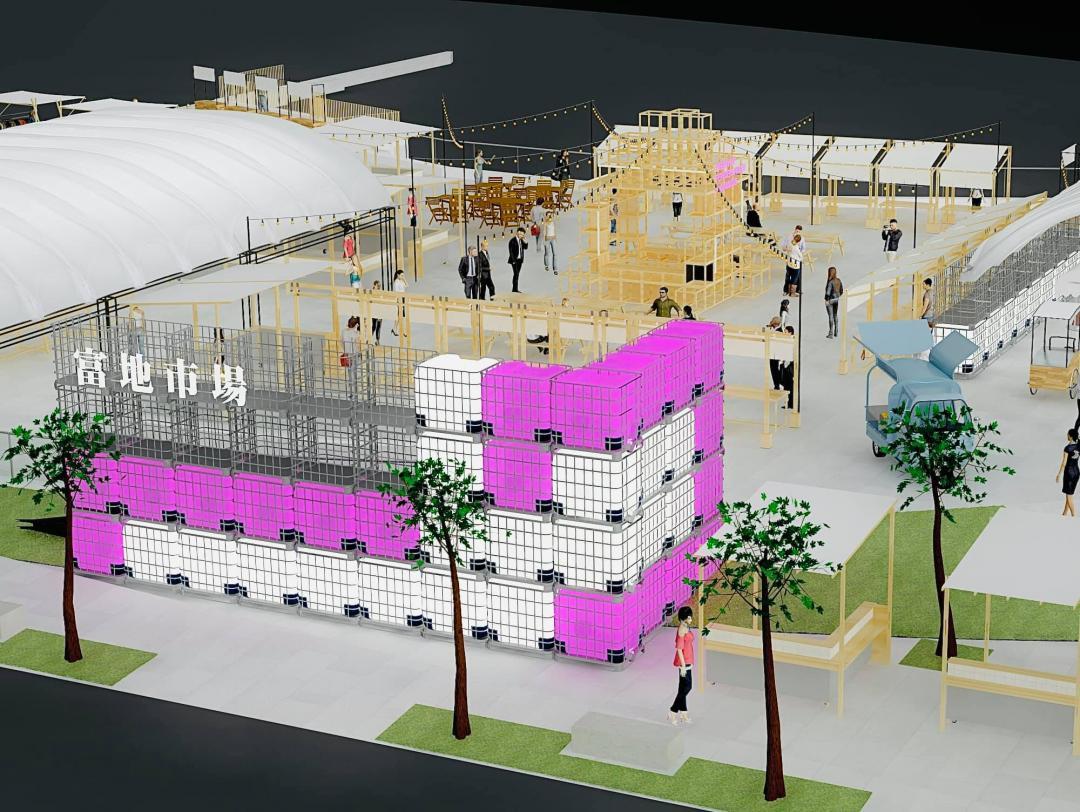 台中最美夜市「富地市場」確定接手草悟廣場!開幕時間、3D場景圖曝光