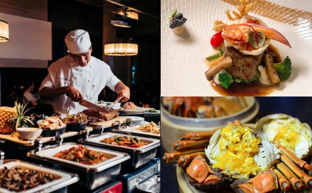現蒸大閘蟹、澎湖生蠔開吃!台北3間星級飯店「Buffet吃到飽」加菜免加價