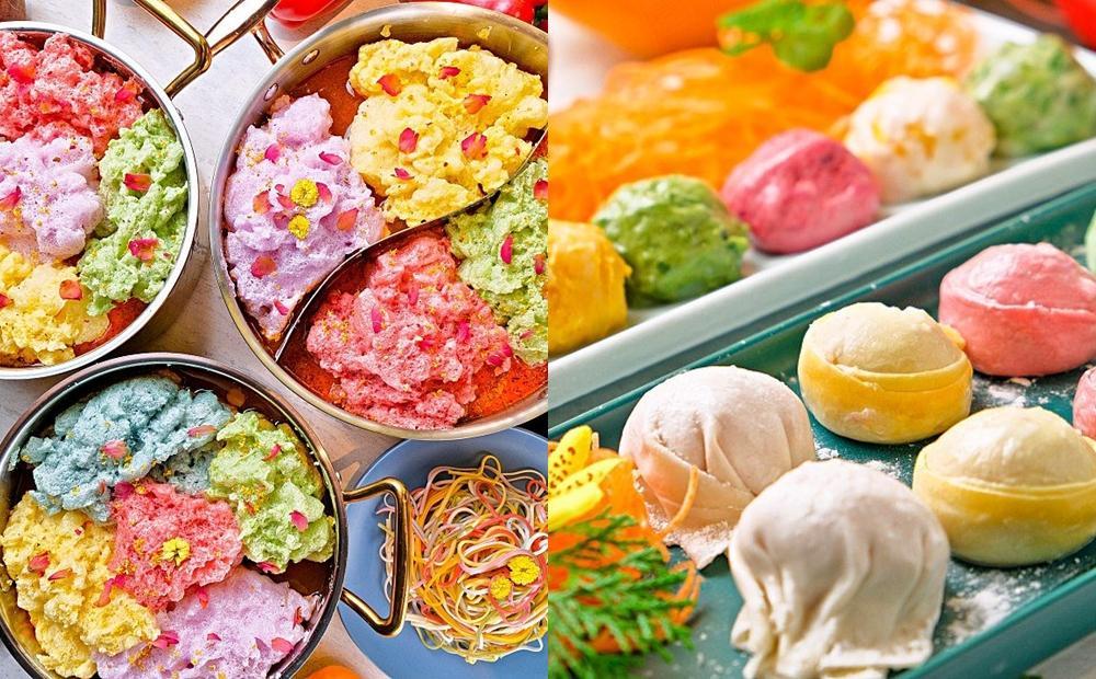 「甜點舒芙蕾」也能煮火鍋?高雄美食首創新吃法、連丸餃都染上繽紛蔬果色