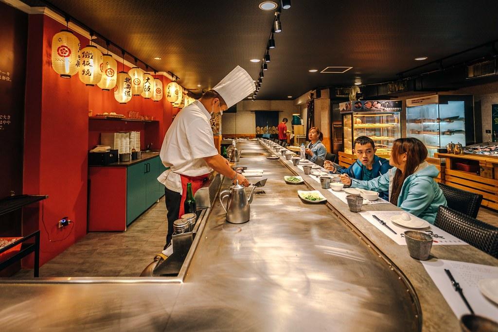 日本和牛、現流海產隨你挑!台北高CP值「超市鐵板燒」白飯湯品吃到飽
