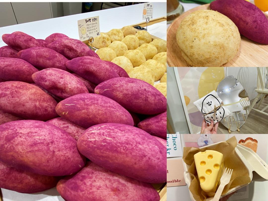 地瓜、馬鈴薯引爆瘋搶?韓系咖啡店推「超擬真麵包」IG爆紅掀討論