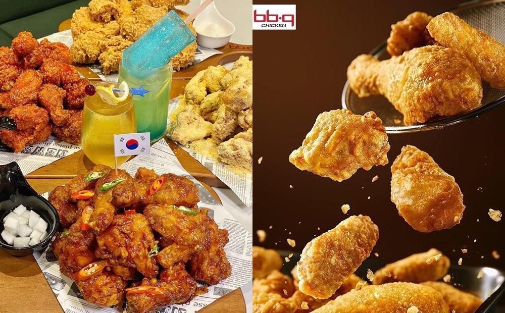 吃炸雞配啤酒!韓式炸雞 bb.q CHICKEN「雞啤套餐」3種熱賣口味一次吃