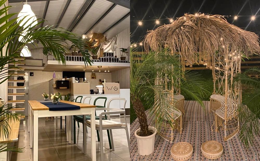 苗栗「峇里島草屋+純白貨櫃屋」IG超夯!全新野餐風咖啡廳像在國外度假