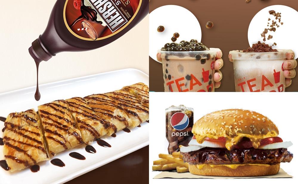 漢堡、蛋餅都加爆巧克力醬!Hershey's「最狂聯名美食」限定登場