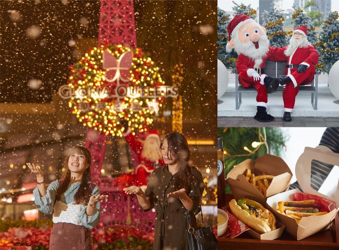 飄雪夢幻耶誕城!華泰名品城正式開村 五感體驗超好玩