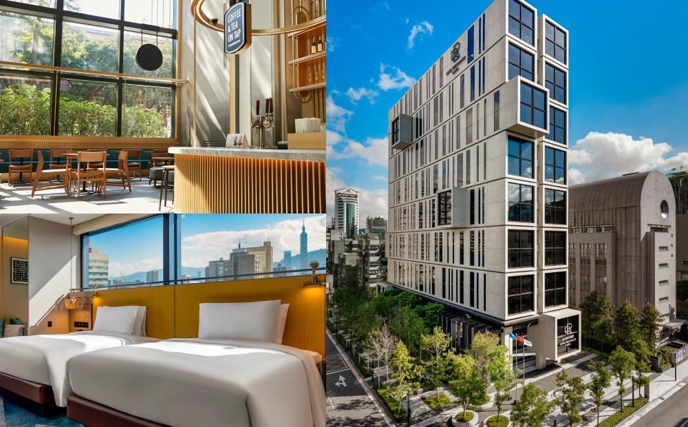 第一間星巴克飯店門市開在這!台北全新「時代寓所」躺在床上看101煙火