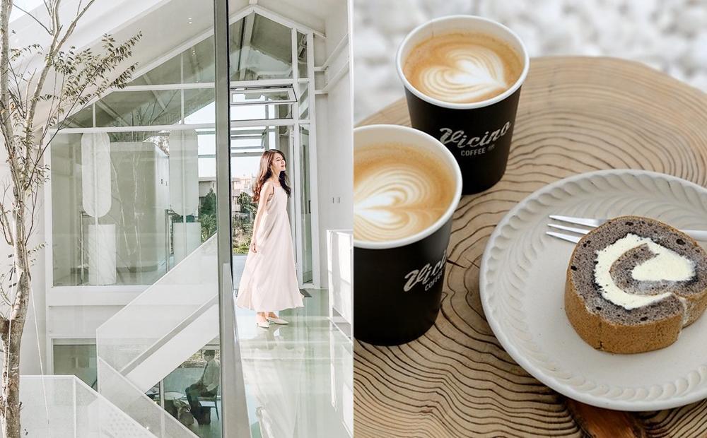 甜點店暗藏一座天空步道!彰化最新「純白玻璃屋建築」挑戰第一美
