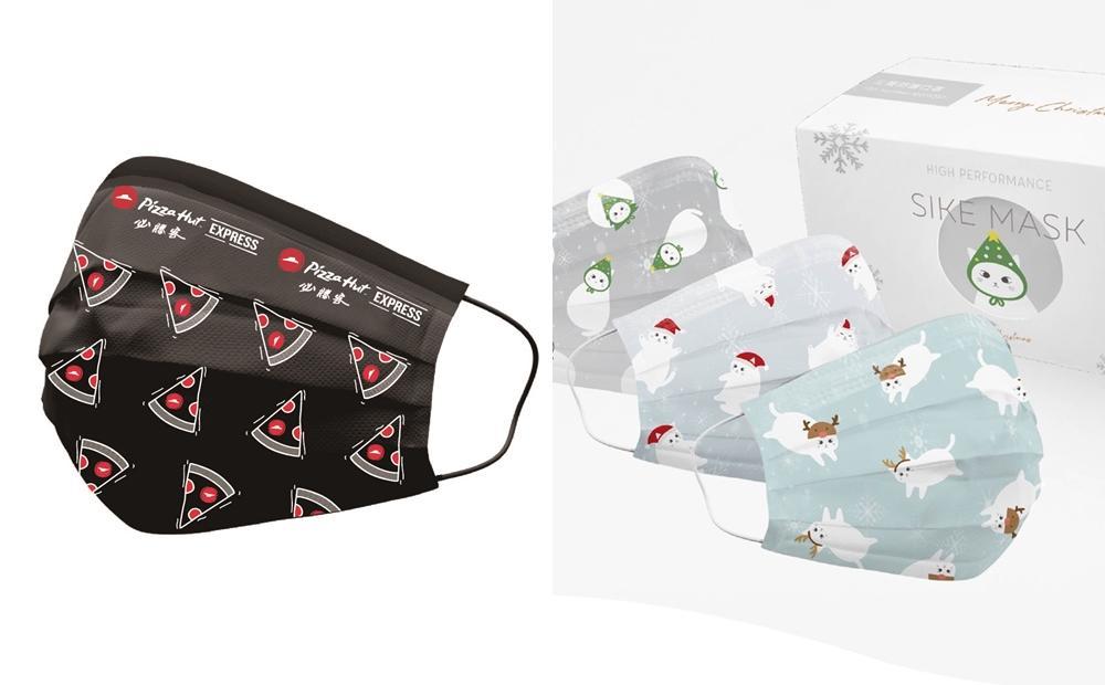 必勝客披薩口罩免費送!「超萌耶誕貓咪、中衛雪花口罩」跨年防疫通通要收