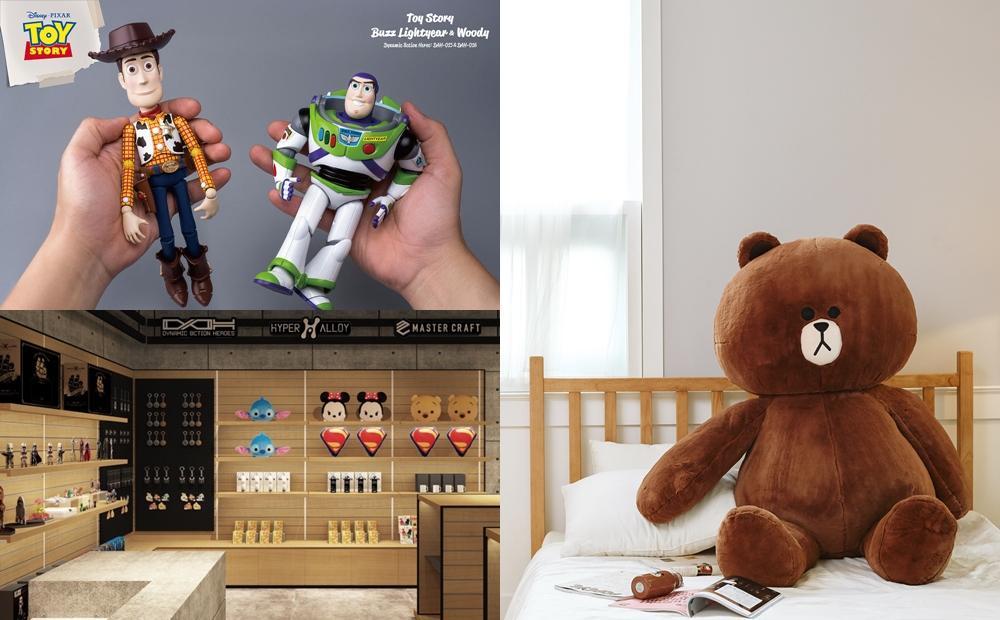 玩具控準備開逛!LINE FRIENDS主題店、迪士尼漫威角色合體現身高雄