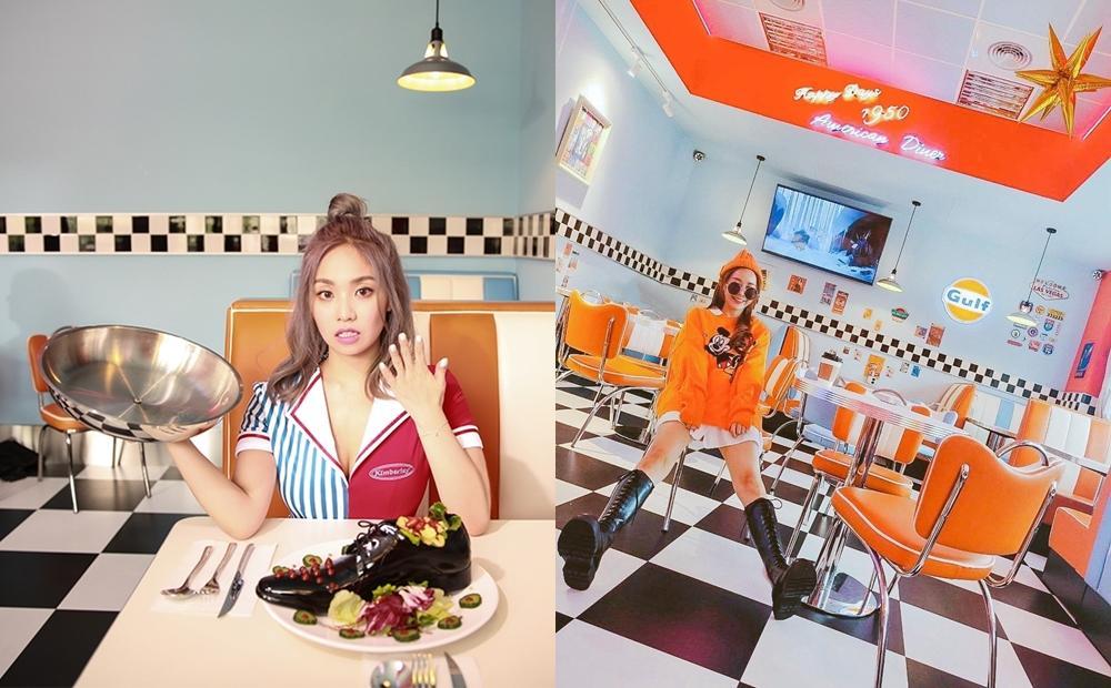 陳芳語MV拍攝地掀起打卡潮!新北「復古美式餐廳」走進1950年代美國影集