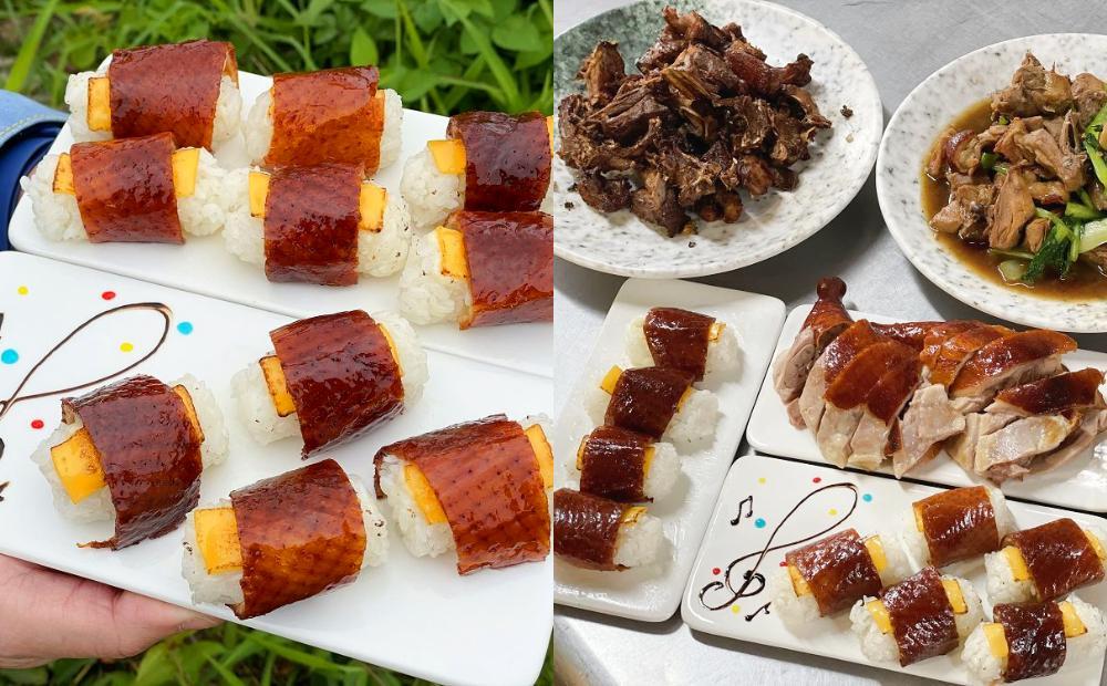 「櫻桃鴨握壽司」鋪滿炙燒起司台南吃得到!一鴨五吃千元有找CP值爆表