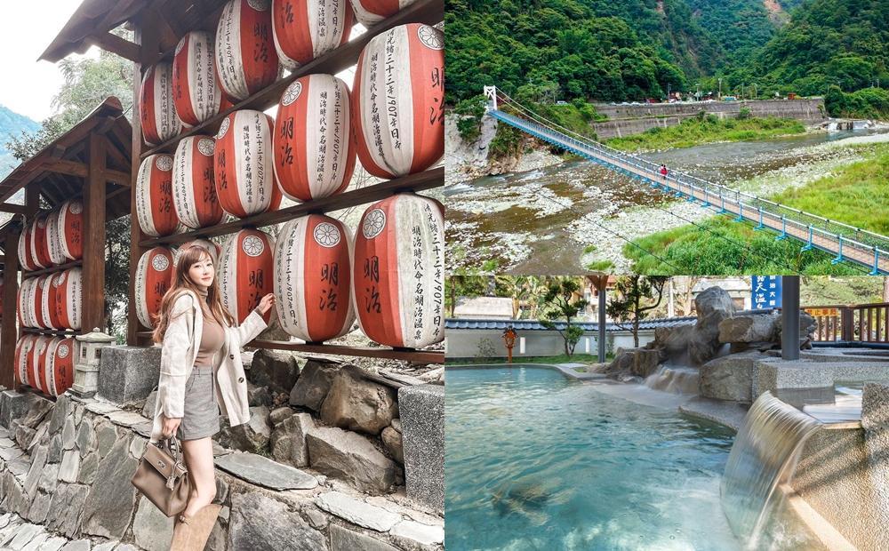 日本溫泉鄉搬到台中!「拍日式紅燈籠、最長美橋」偽出國泡湯行程爆紅
