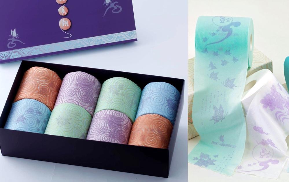 高級廁紙當伴手禮爆紅!要價 1 萬日幣「日本最貴衛生紙」美如藝術品