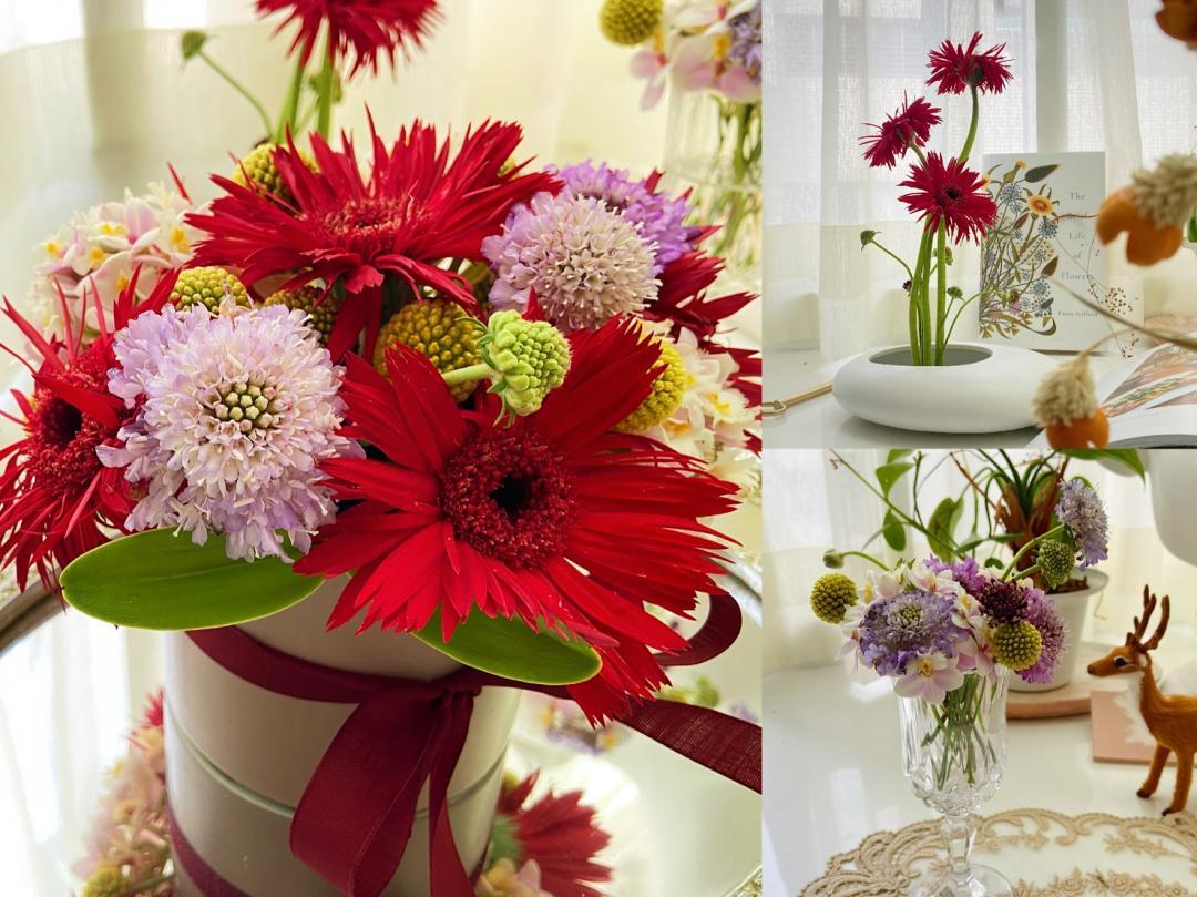 春節氣息up!4 種花材變出 3 款花藝,玄關客廳打造質感年味