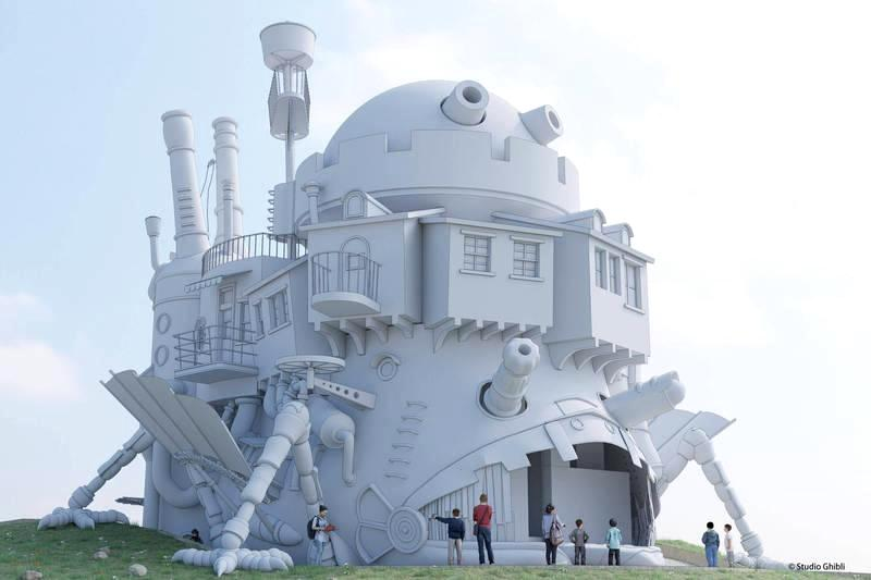 《龍貓》、《霍爾的移動城堡》真實重現!日本吉卜力主題公園2022年開幕