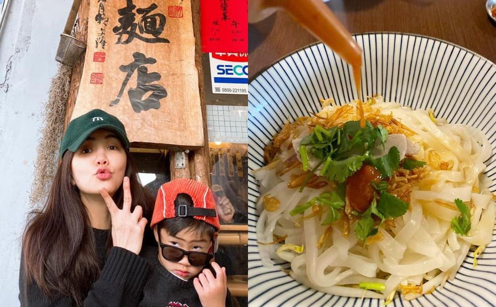 屏東「這間麵店」Ella 陳嘉樺連續吃7天!網讚:油蔥酥+辣醬絕配