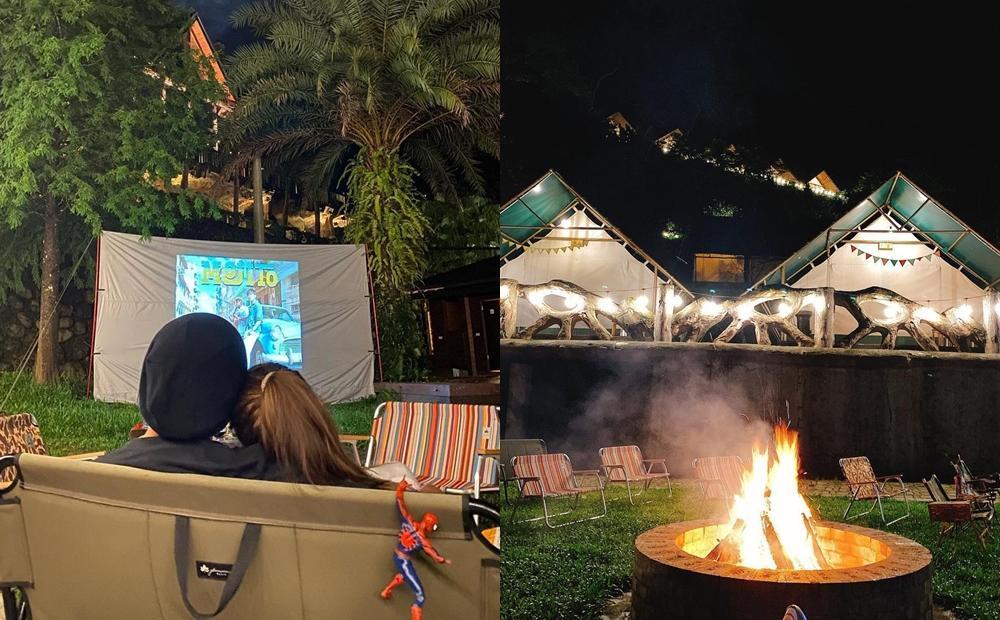 周杰倫度假住這!新竹新開幕「豪華露營地」一泊四食+露天電影院玩法升級