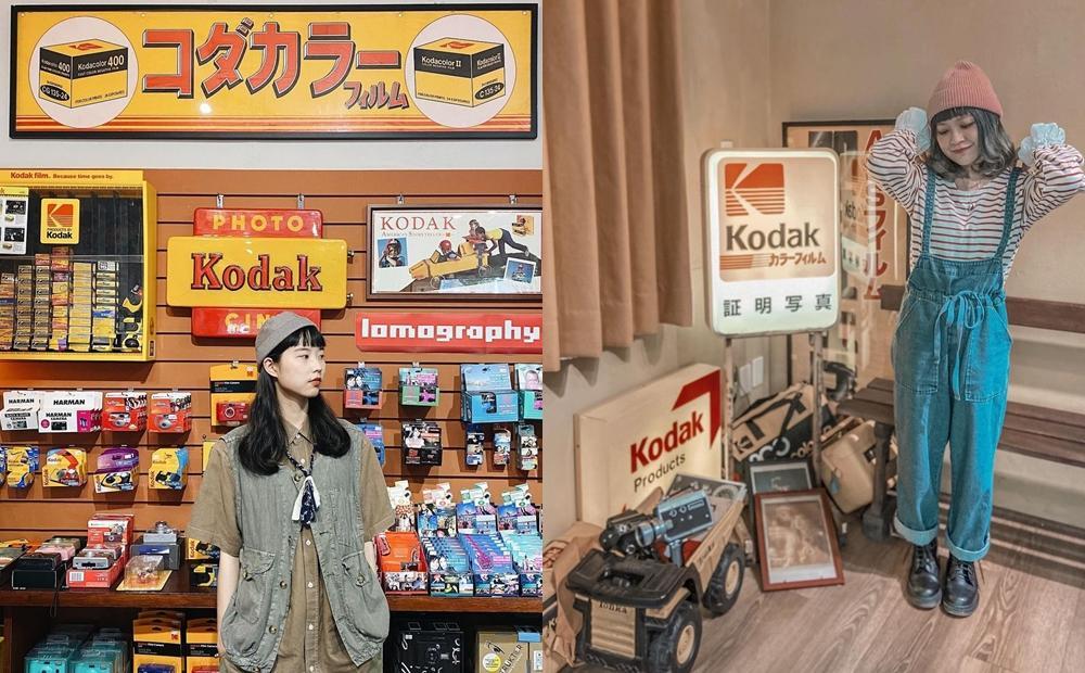 日治時代老相機店變身復古咖啡廳!台南「又又美」整面柯達底片牆必拍