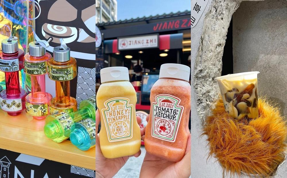 無人店用仙草洞送餐、番茄醬瓶身裝果汁!台南3間「奇葩飲料店」網友瘋朝聖
