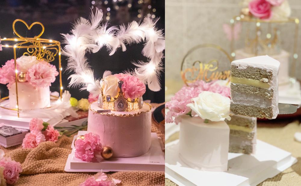 Café del SOL最夢幻「母親節蛋糕」會亮燈!華麗皇冠+芋泥布丁餡寵愛媽媽