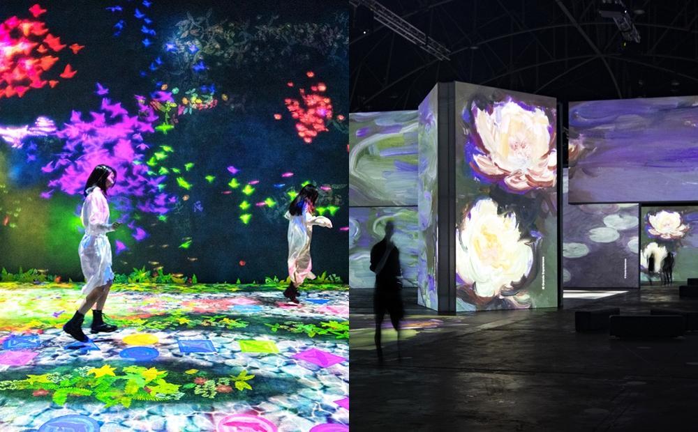 「印象莫內光影體驗展、日本人氣必看teamLab」即將登台!展區亮點搶先看
