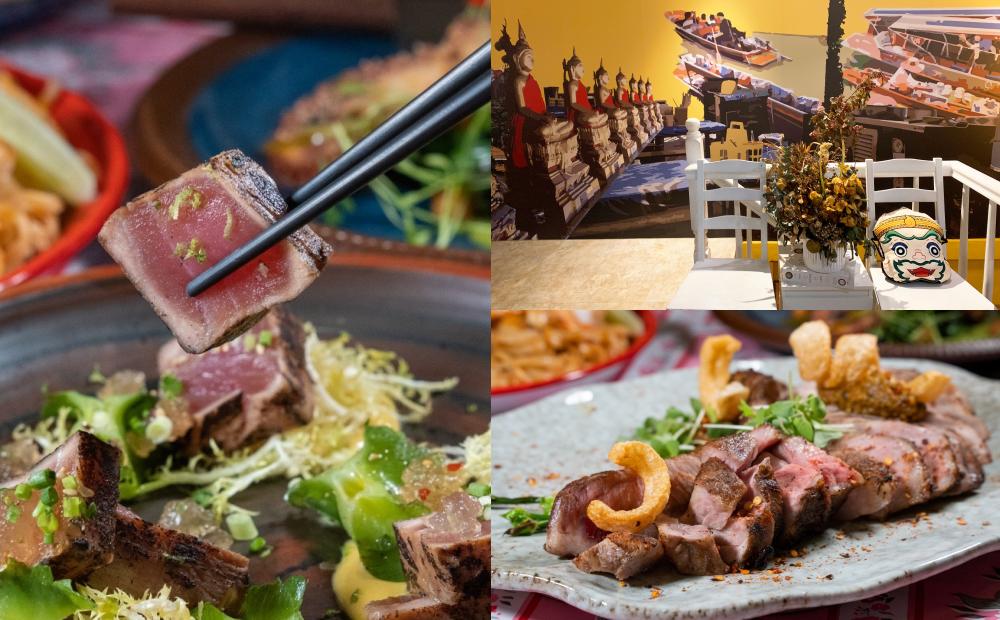 霸氣戰斧豬排、好吃到落淚的牛排!台北「烤寨餐酒館」新菜一口秒飛泰國