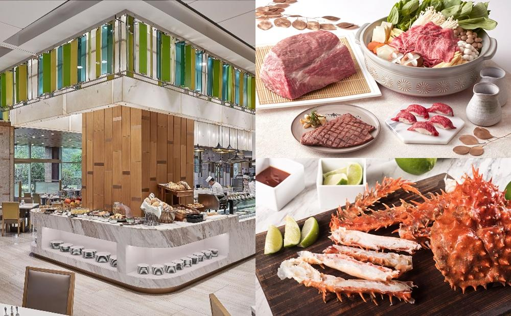 媽媽吃大餐免費!5間雙北飯店Buffet優惠「帝王蟹、和牛宴」菜色新升級