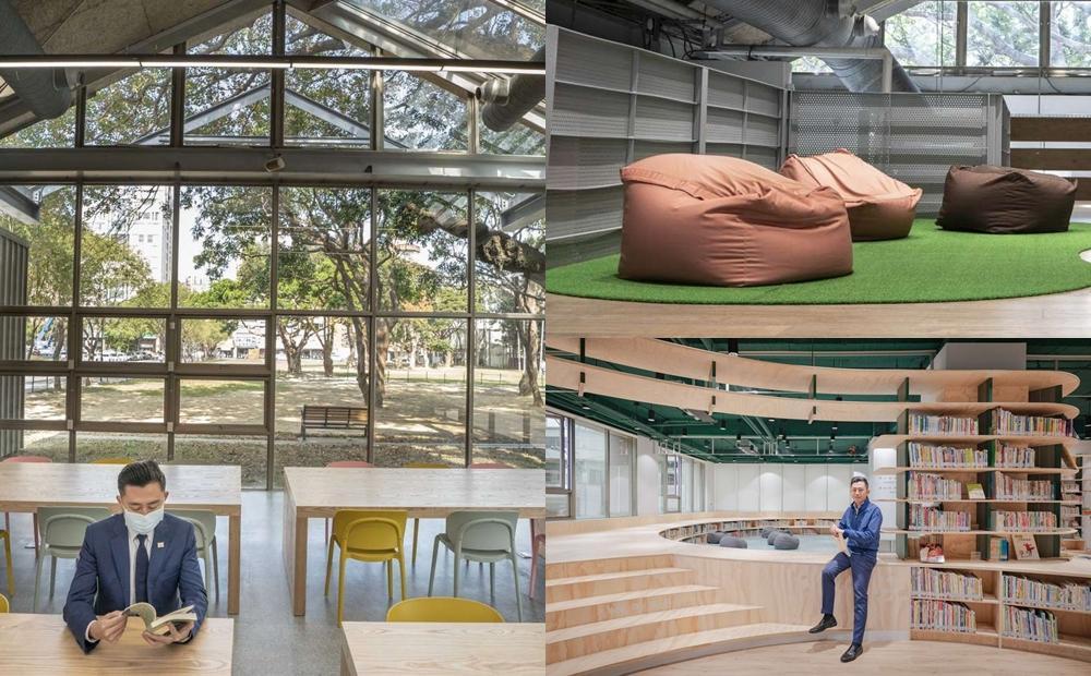 新竹 2 座「全新圖書館」比美!百年紅磚玻璃屋躺懶骨頭、森林系空間即將開放