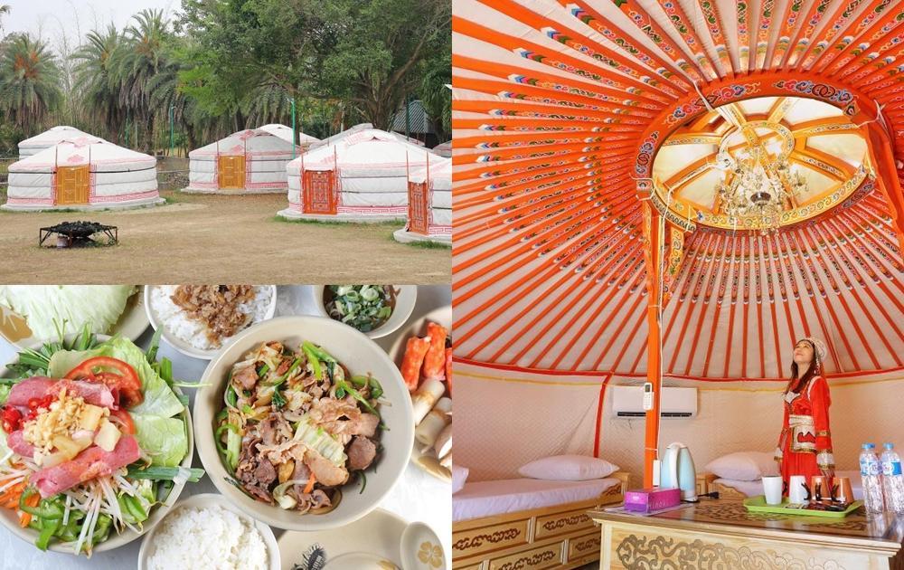 嘉義「小蒙古」體驗大漠風情!入住正統蒙古包、鐵板烤肉吃到飽